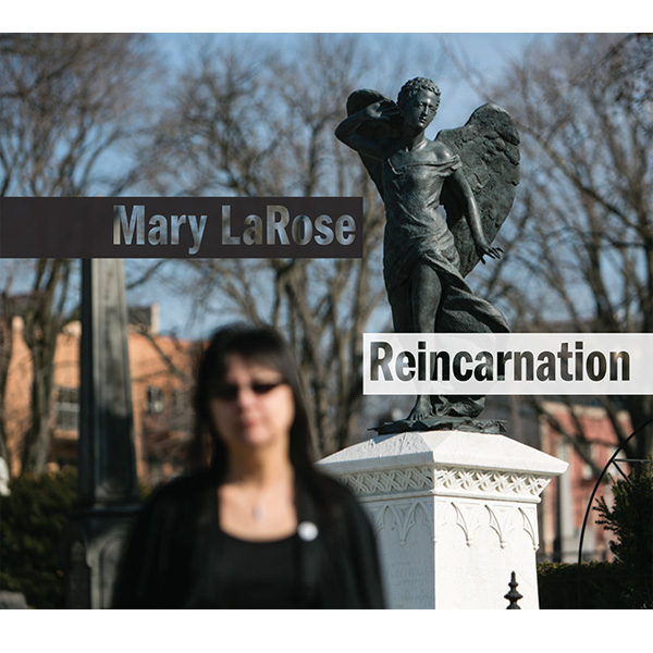 "Mary LaRose ""Reincarnation"" CD Eco-pak packaging"