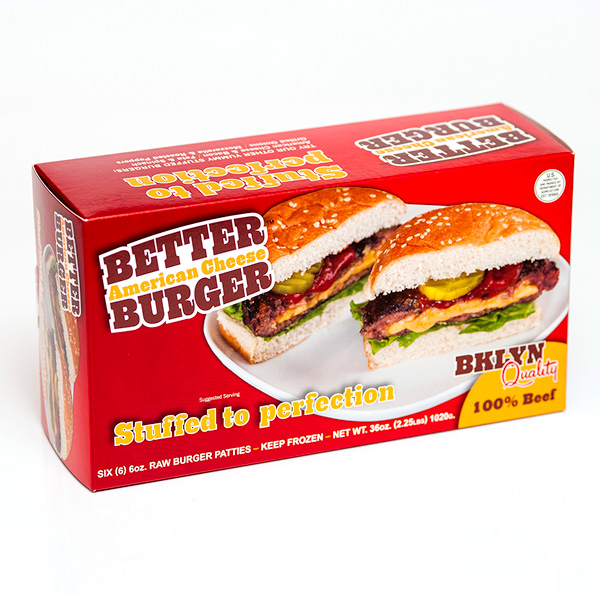 Better Burger consumer packaging